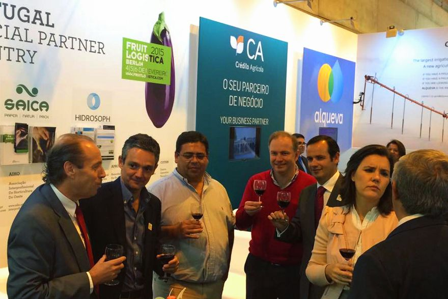 Empresários de Almeirim na Fruit Attraction 2014